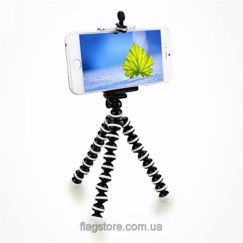 Гибкий штатив для смартфона 17 см (S-2) 5