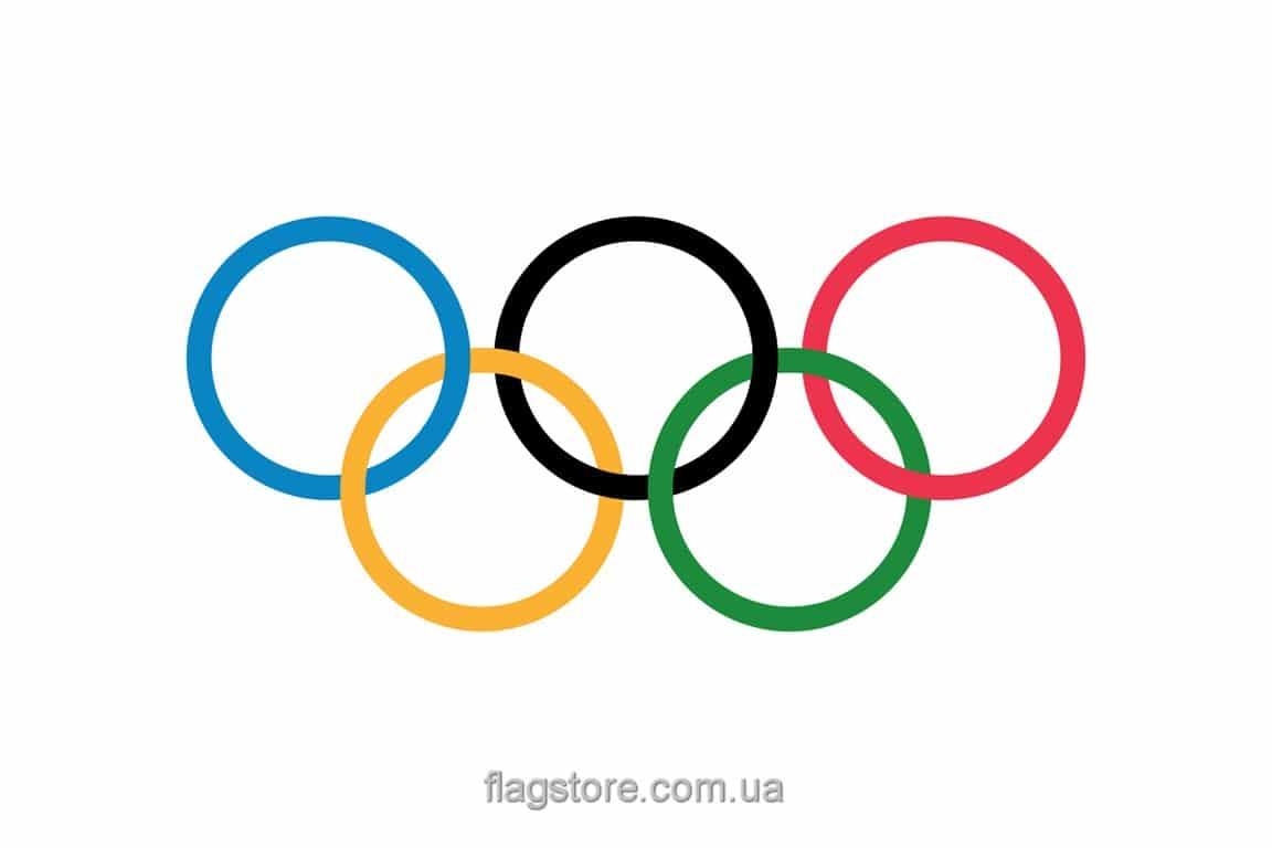 Купить олимпийский флаг олимпийских игр