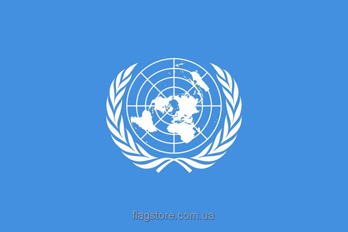 Купить флаг Организации Объединённых Наций (ООН)