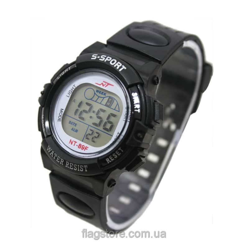 Спортивные часы S-Sport с серым циферблатом 01