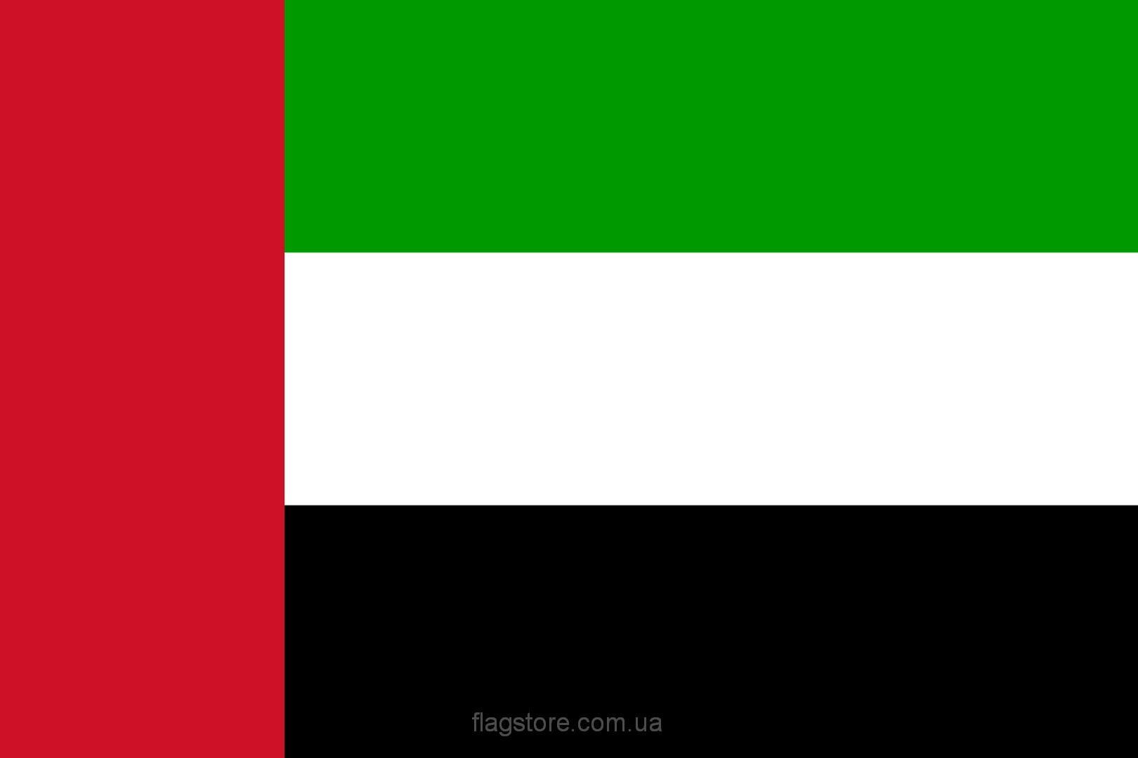 Купить флаг оаэ (страны Объединённые Арабские Эмираты)