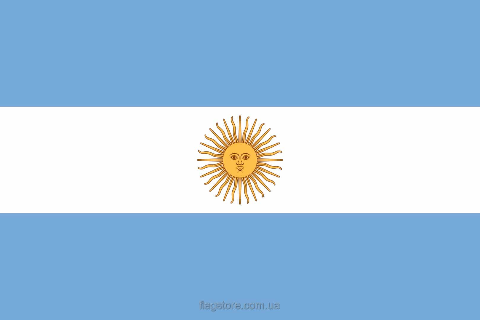 Купить флаг Аргентины