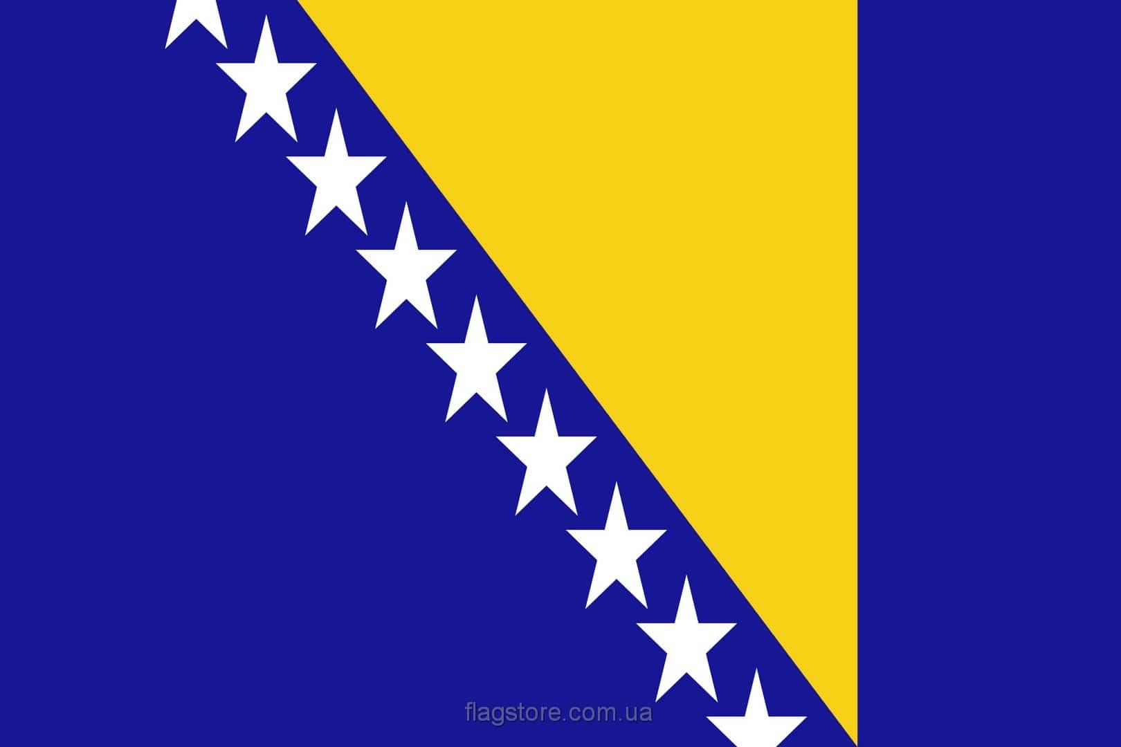 Купить флаг Боснии и Герцеговины (страны Босния и Герцеговина)