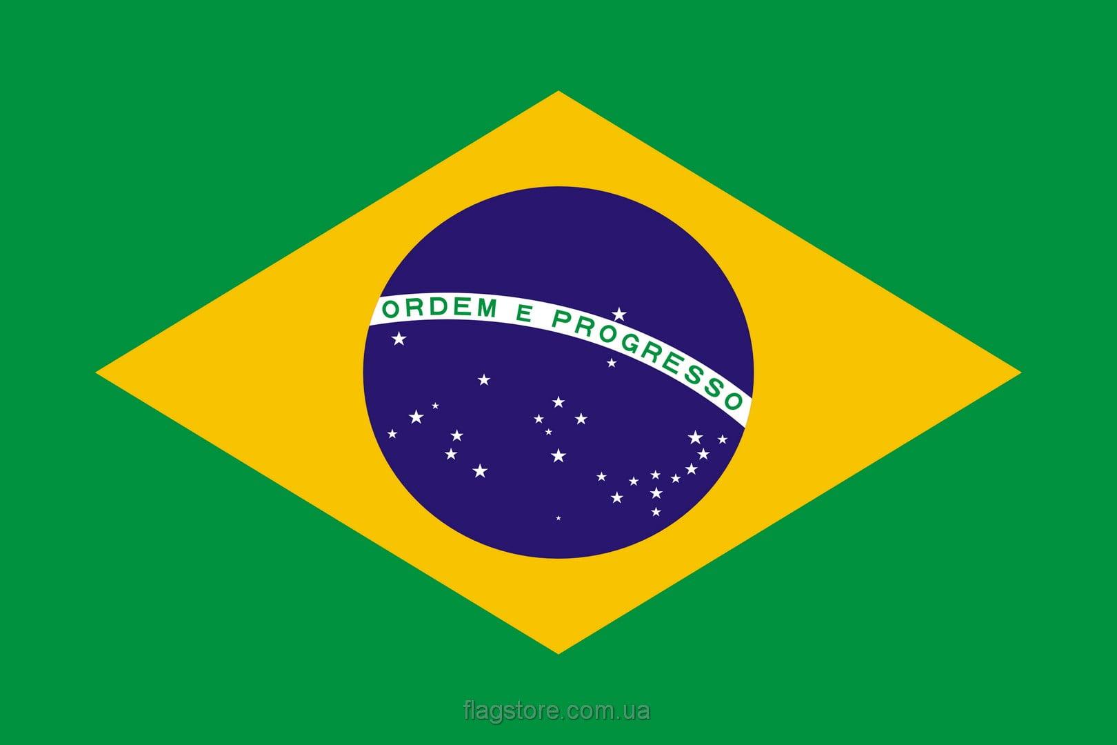 Купить флаг Бразилии (страны Бразилия)