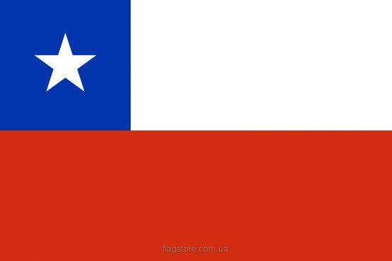Купити прапор країни Чилі