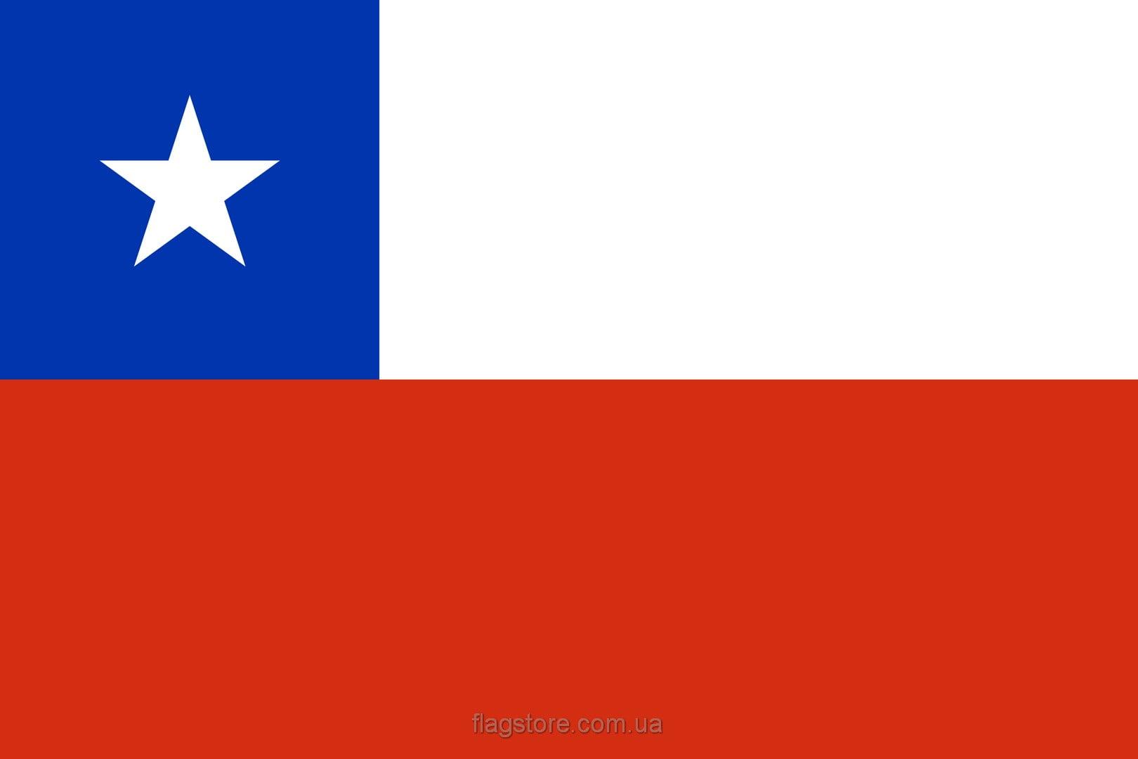 Купить флаг страны Чили