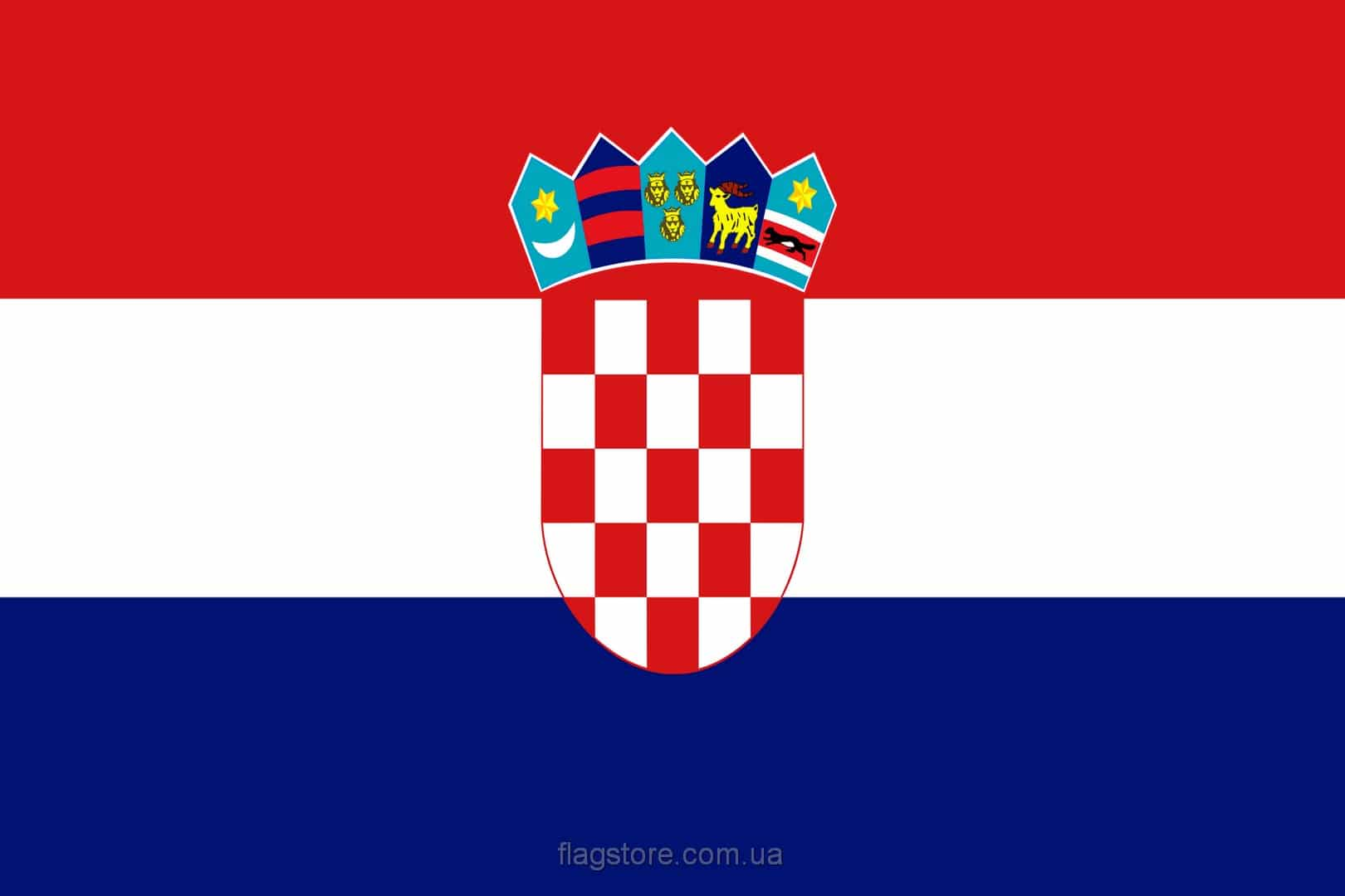купить флаг Хорватии (страны Хорватия)