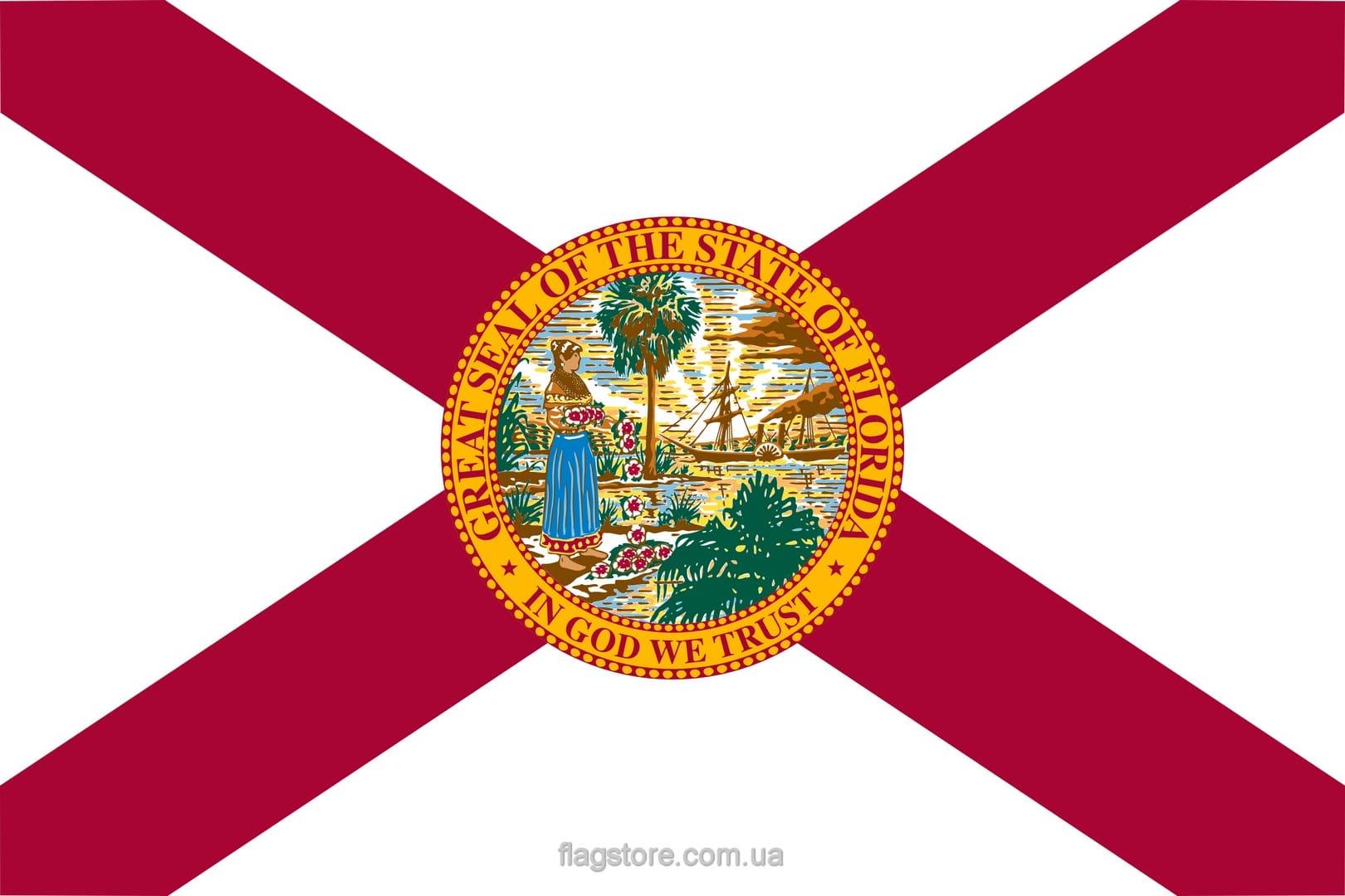 Купить флаг Флориды (штата Флорида)