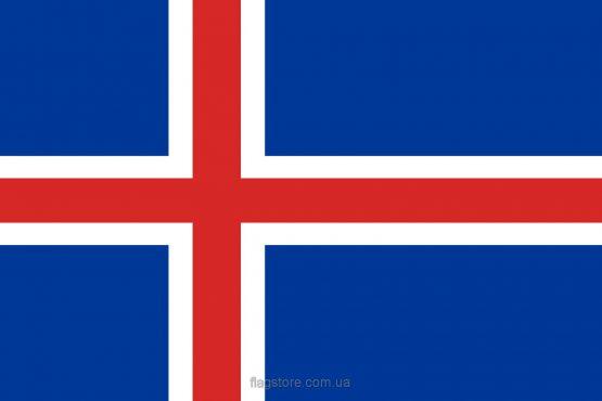 Купити прапор Ісландії (країни Ісландія)
