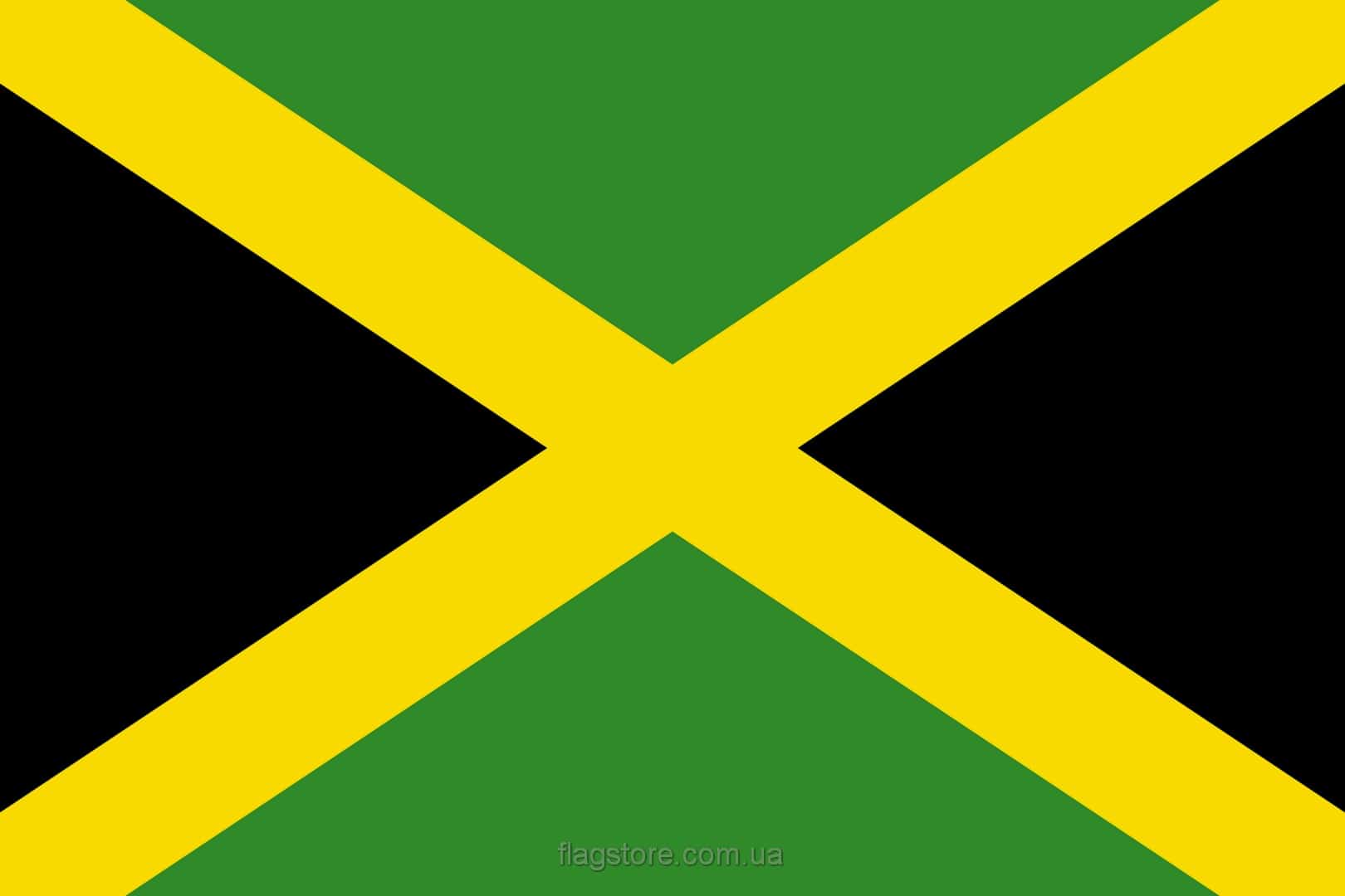 Купить флаг Ямайки (страны Ямайка)