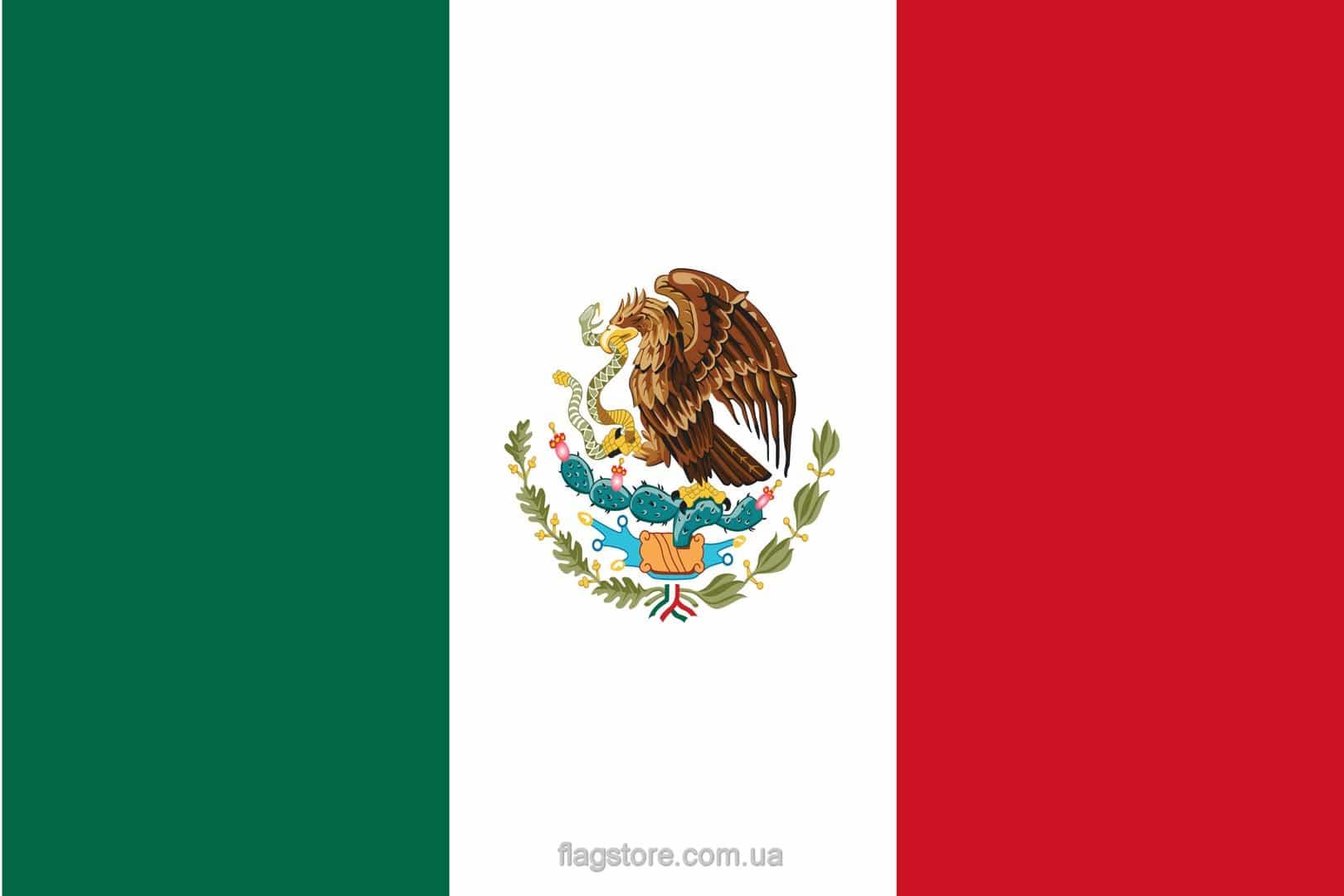 Купить флаг Мексики (страны Мексика)