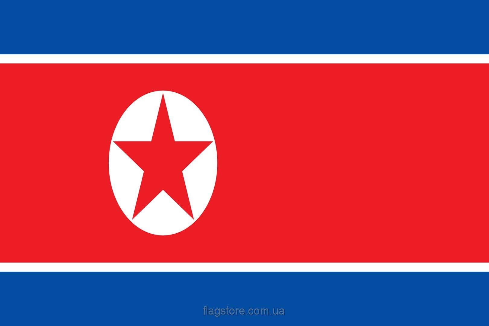 Купить флаг КНДР (страны Северная Корея)