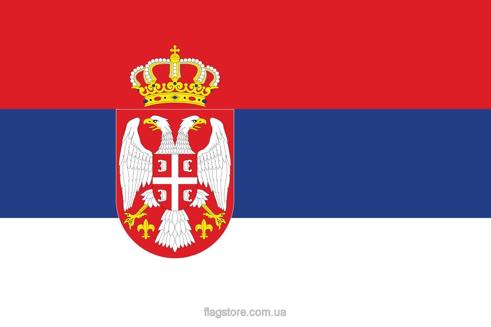 Купить флаг Сербии (страны Сербия)