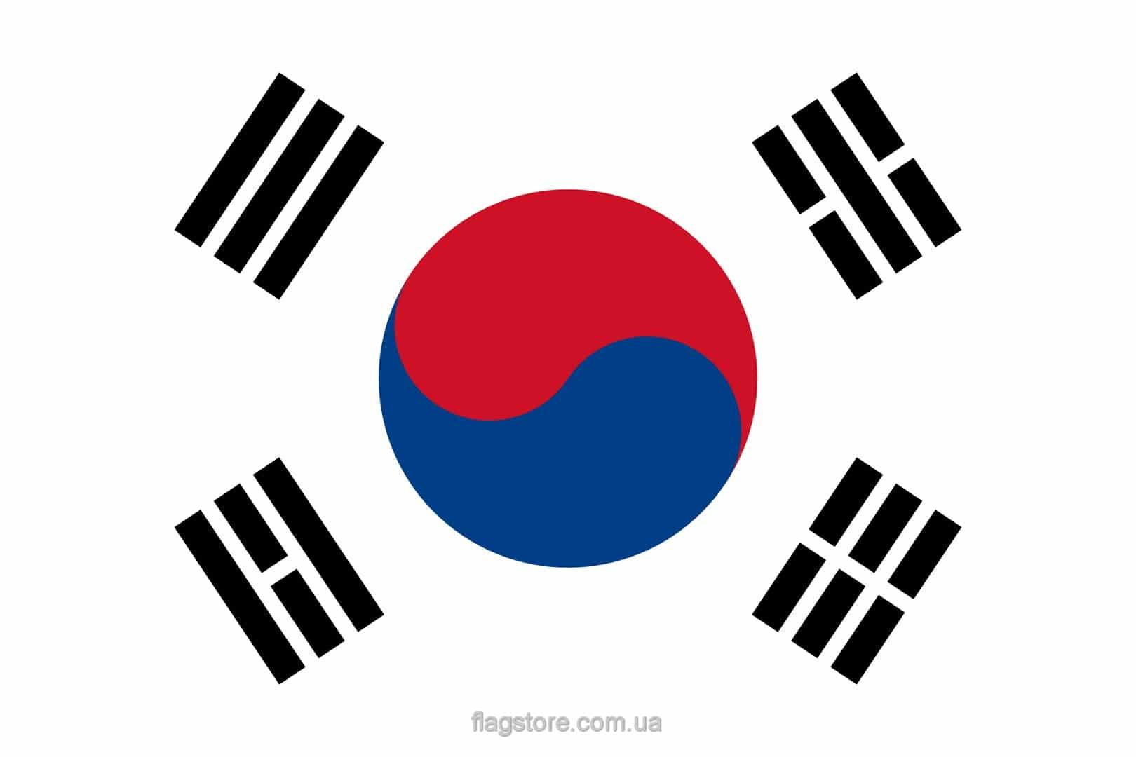 Купить флаг Южной Кореи