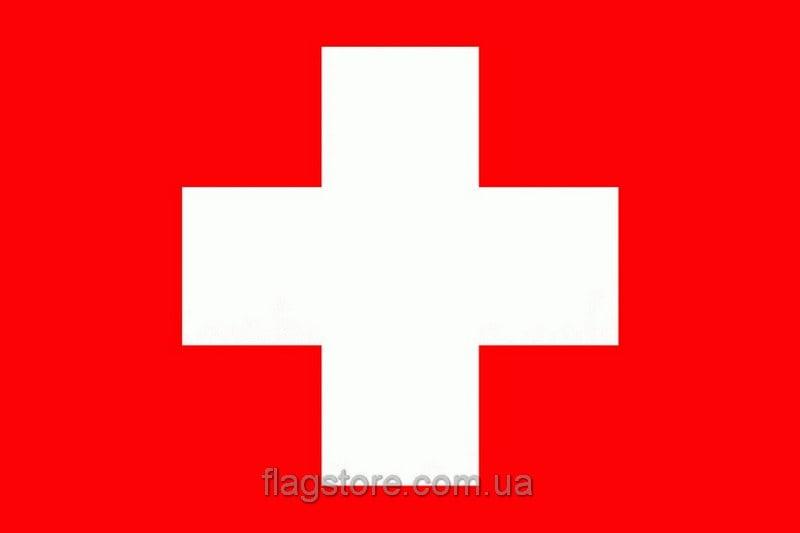 Купить флаг Швейцарии (страны Швейцария)