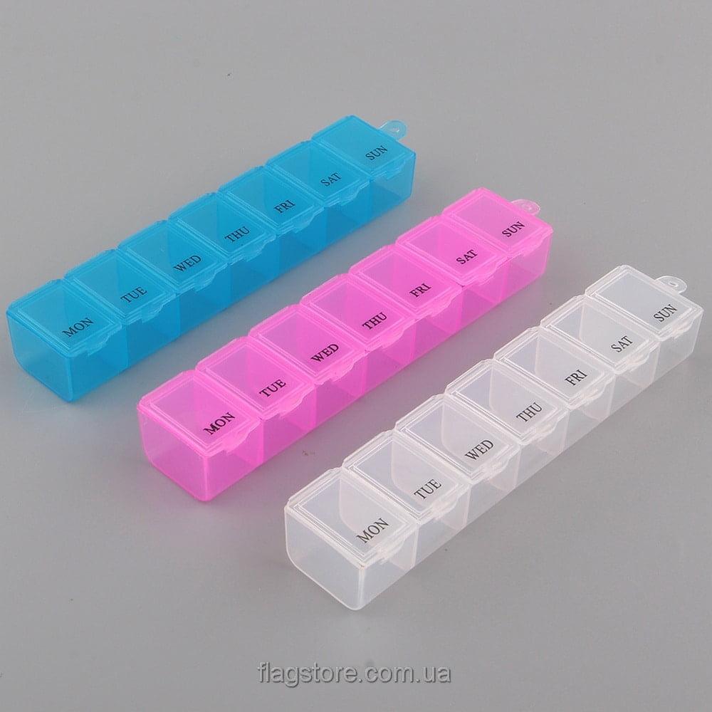 Контейнер для таблеток на 7 дней – 1 прием в день 1