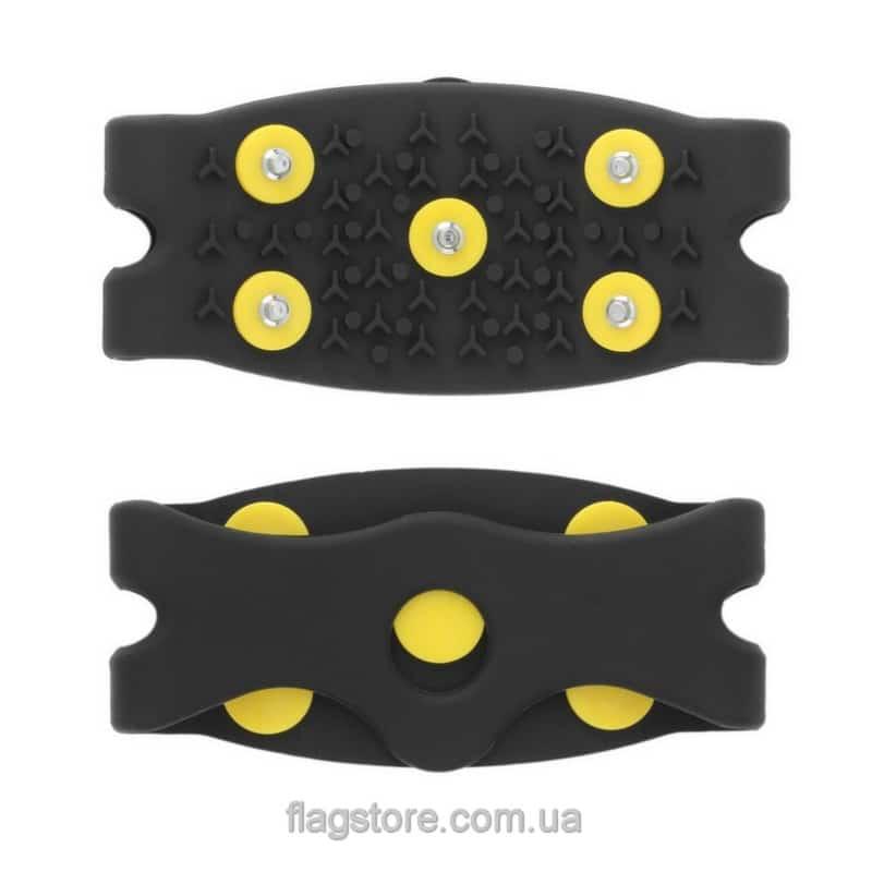 Противоскользящие накладки на обувь с 5 шипами (пара) 1