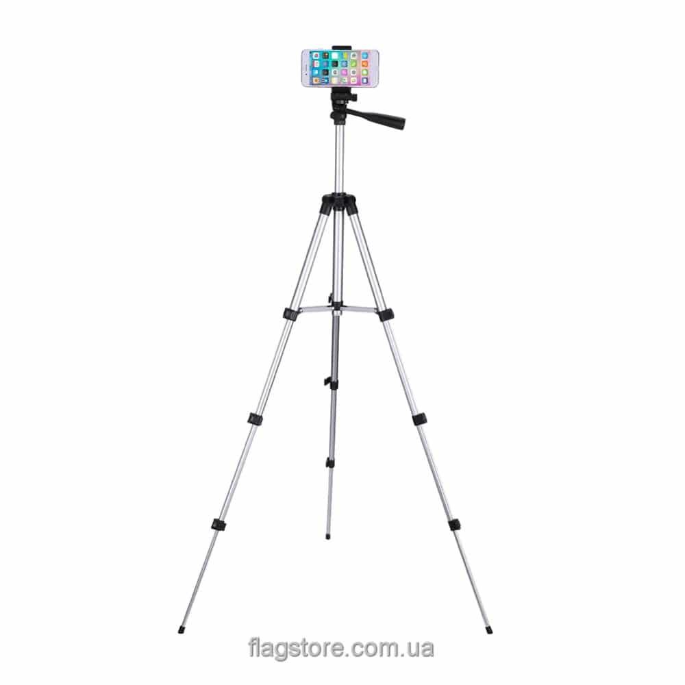 Телескопический штатив для устройств до 2 кг – 102 см 6