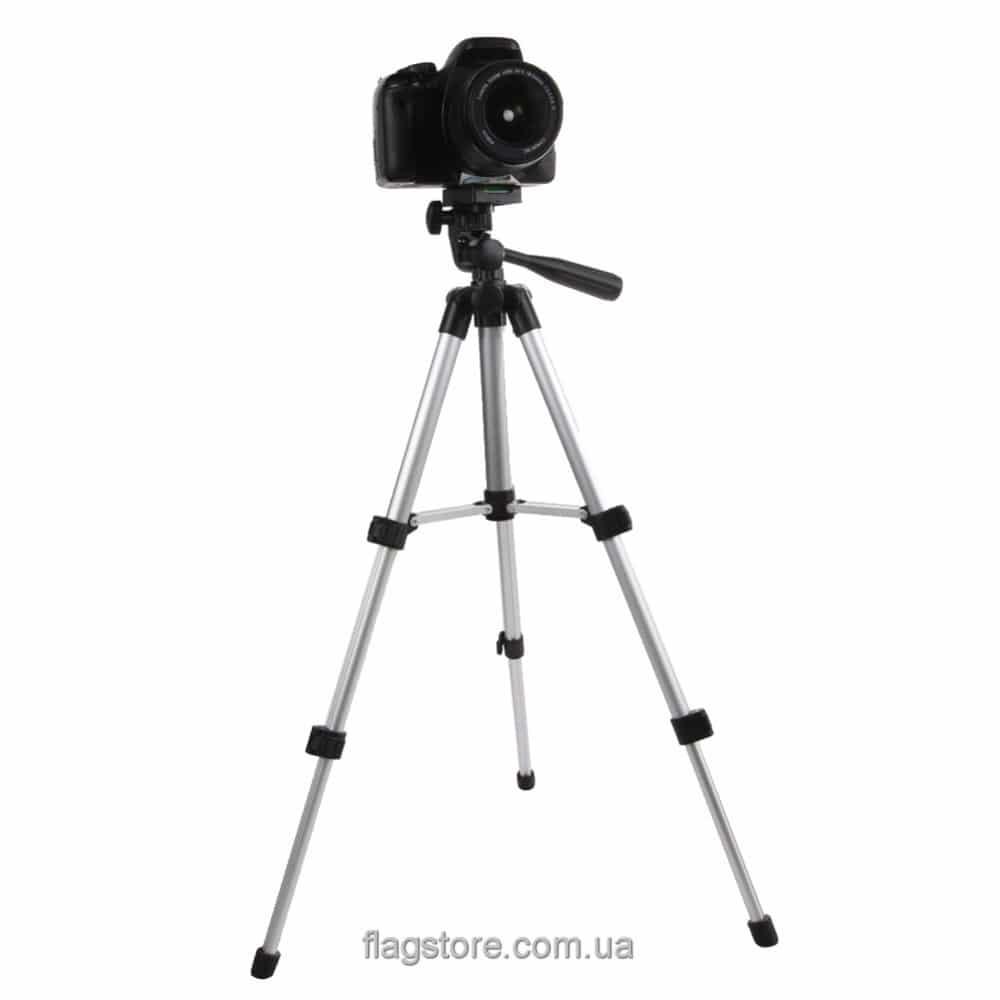 Штатив настольный для фотоаппарата до 2 кг – 65 см 3