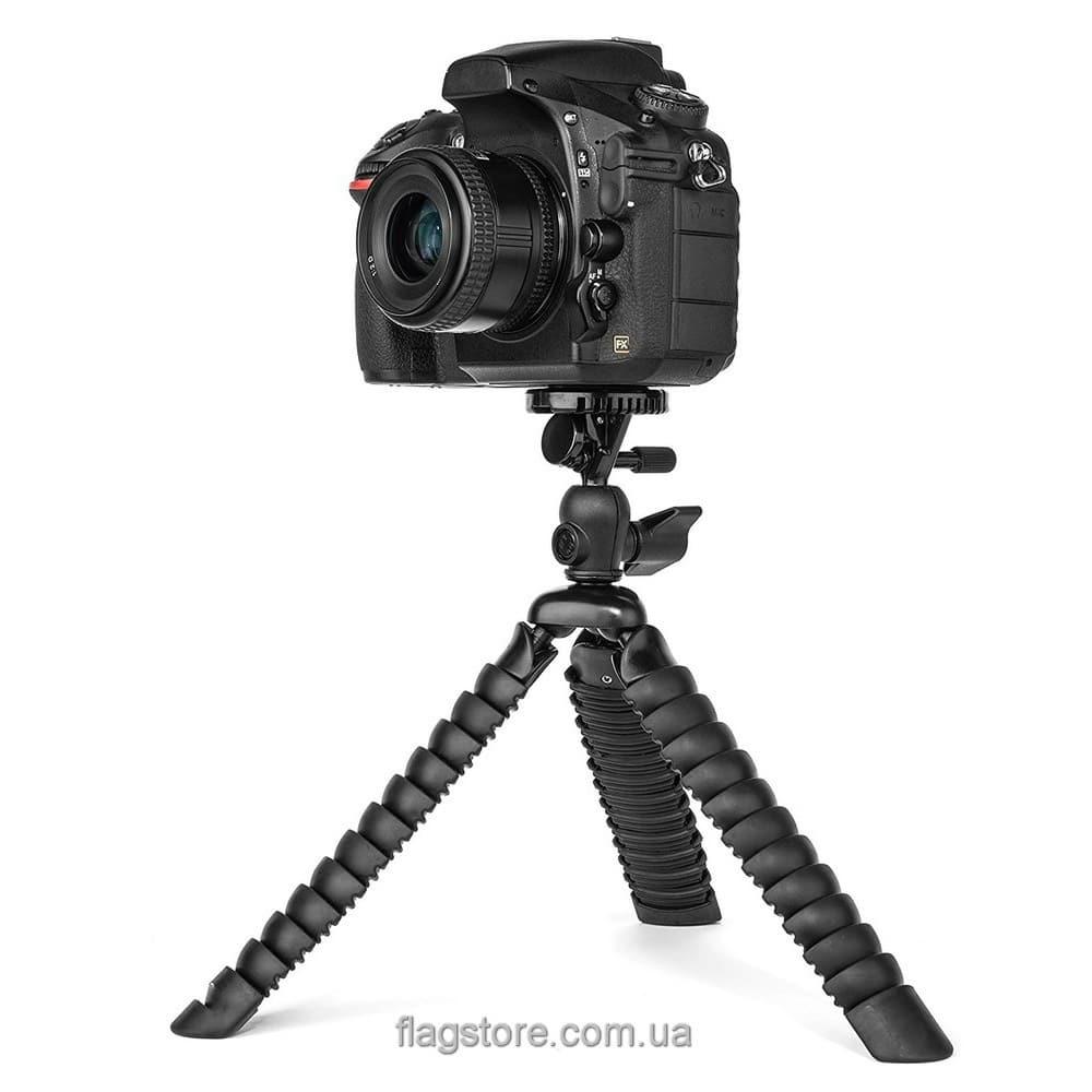 Гибкий штатив для камеры до 2 кг 28 см (L-2) 6