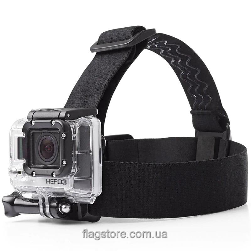 Универсальное крепление на голову для экшн-камер 4