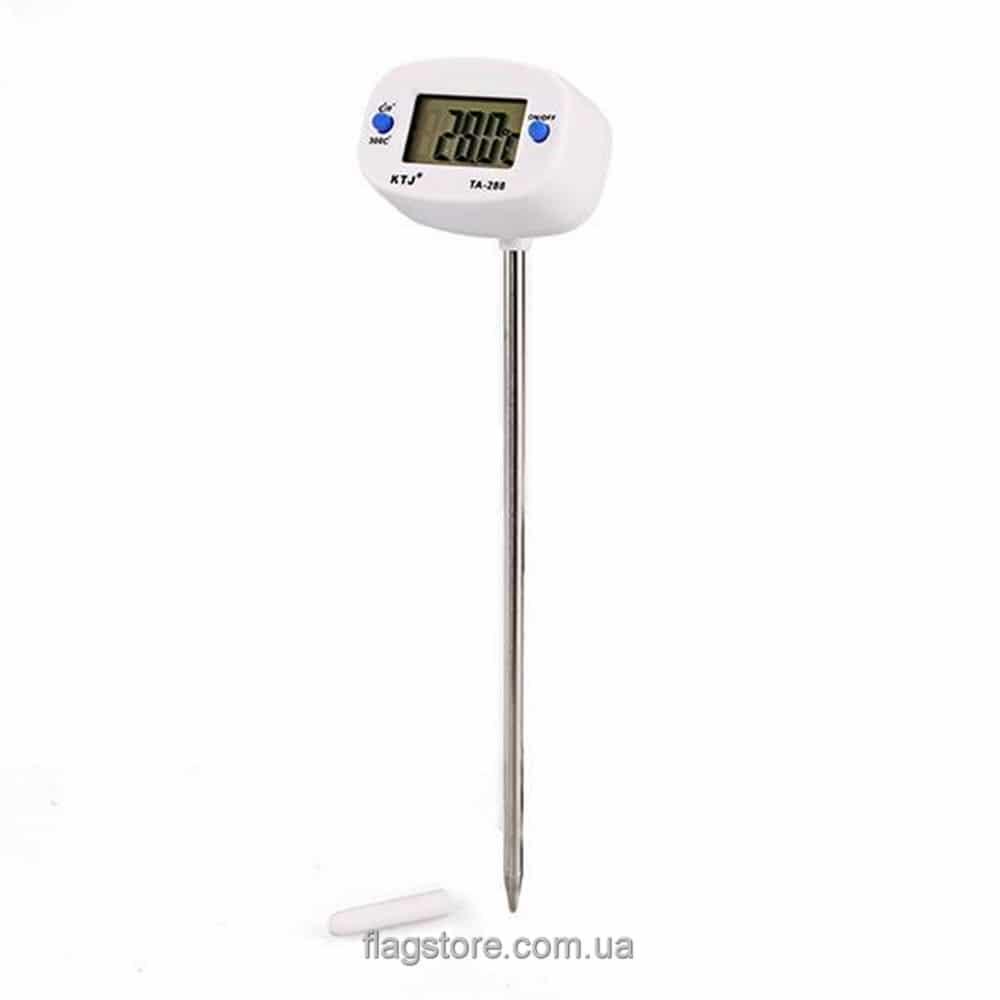 Цифровой градусник для еды и жидкостей с головкой 180° 5