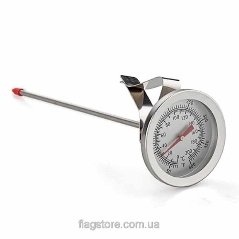 Механический термометр со щупом 19 см (до 200 градусов) 3