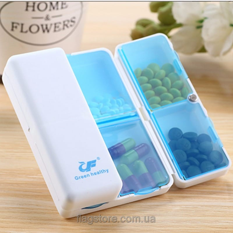 Мобильный контейнер для таблеток на магнитах 03