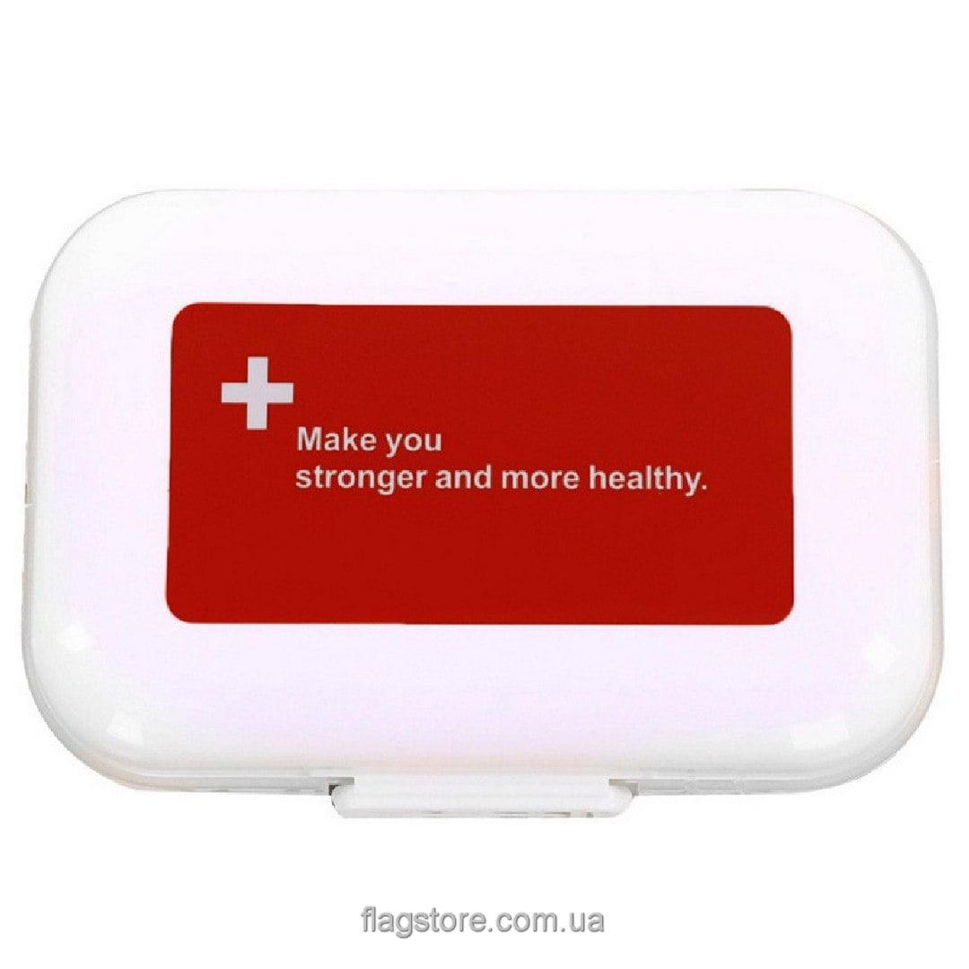Мобильный органайзер для таблеток с напоминанием – 7 дней – 4 приема в день 2