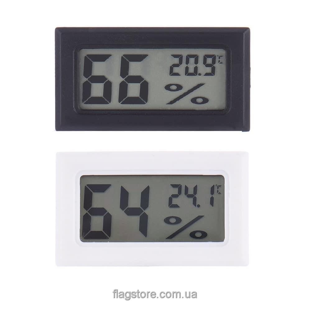 Прямоугольный цифровой термометр-гигрометр 3