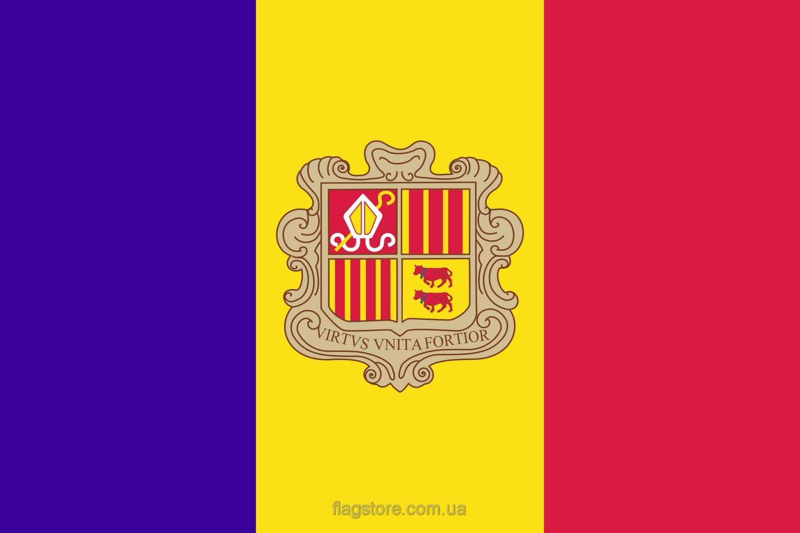 Купить флаг Андорры (страны Андорра)