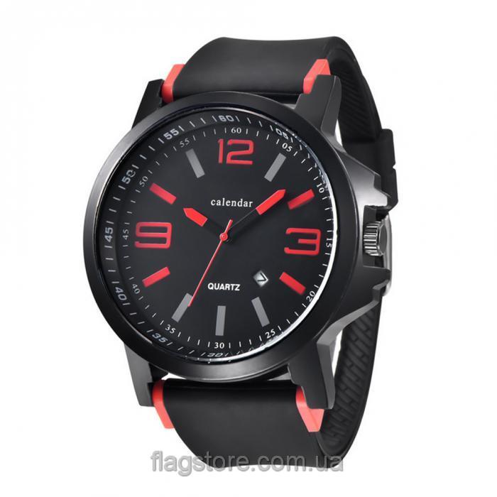 Большие аналоговые наручные часы (W162) 02