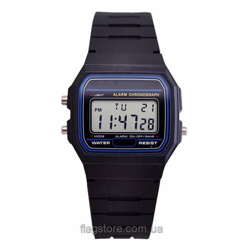 Классические электронные часы 01