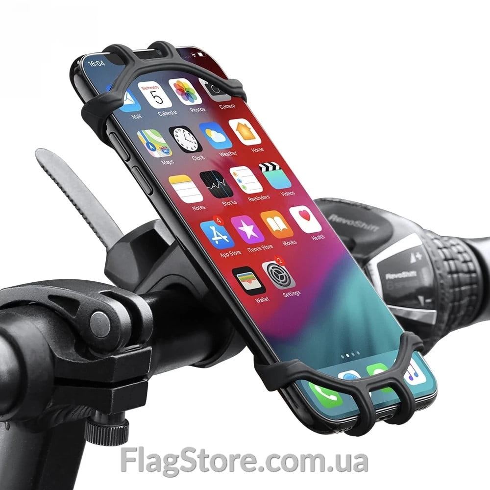 Поворотное крепление для смартфона на руль велосипеда 5