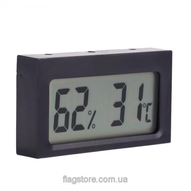 Прямоугольный цифровой термометр-влагомер 42 #