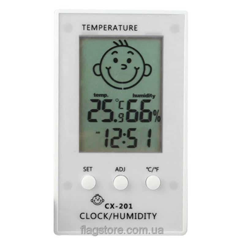 Термометр-влагомер для дома CX-201 2