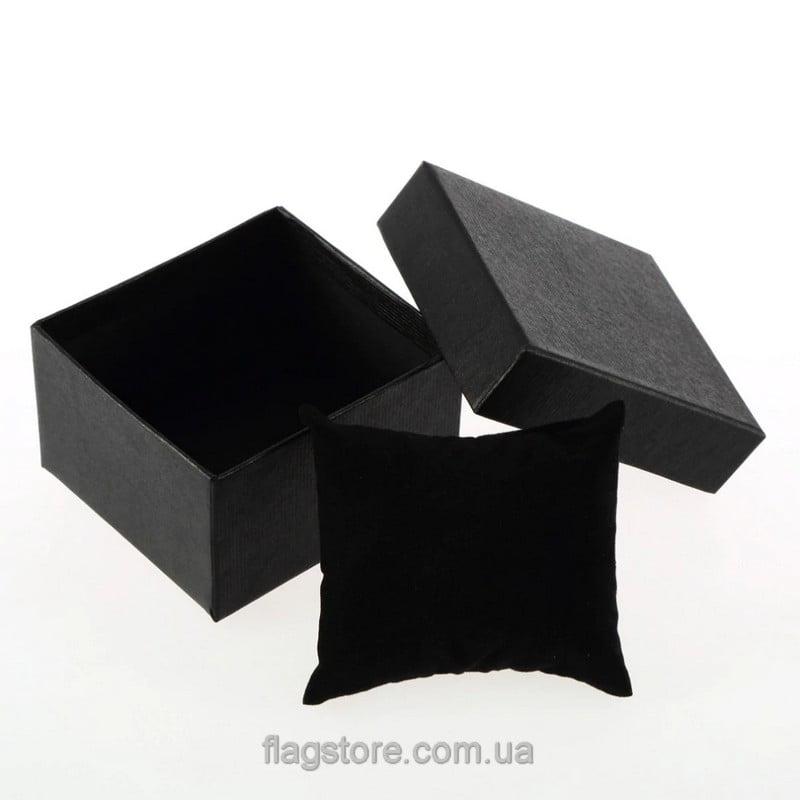Черная подарочная коробка для часов 02