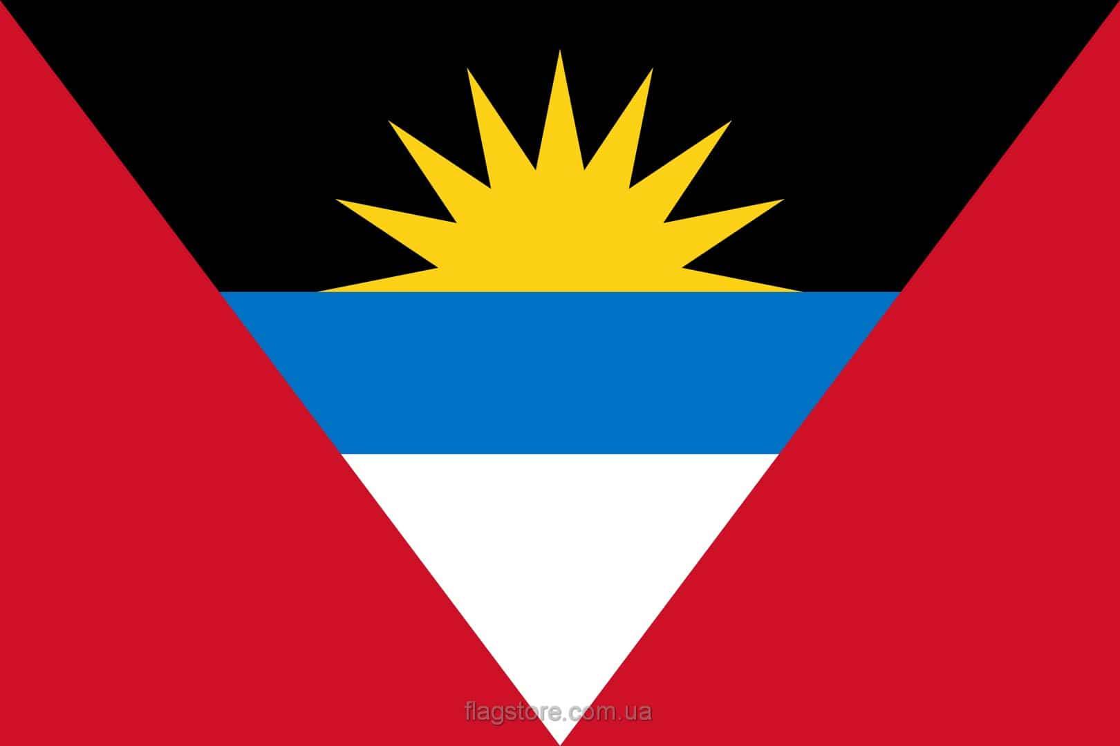 Купить флаг Антигуа и Барбуды (страны Антигуа и Барбуда)
