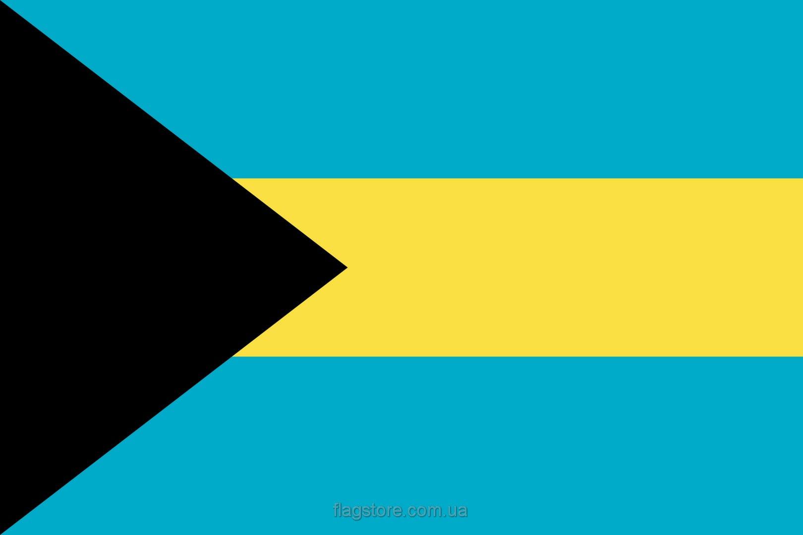 Купить флаг Багамских Островов (страны Багамские Острова)