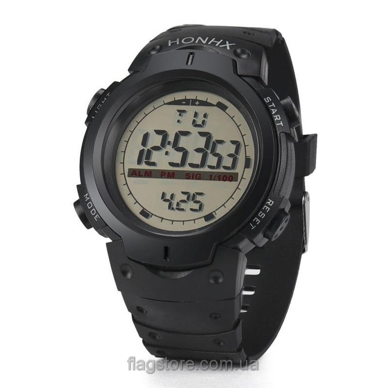 Cпортивные водонепроницаемые часы HONHX с подсветкой 03