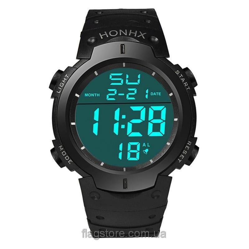 Cпортивные водонепроницаемые часы HONHX с подсветкой (W154) 05