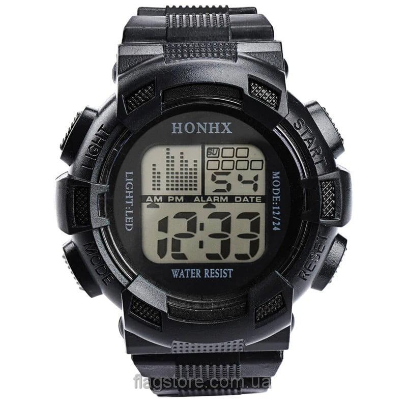 Cпортивные водонепроницаемые часы HONHX с подсветкой (W159) 04