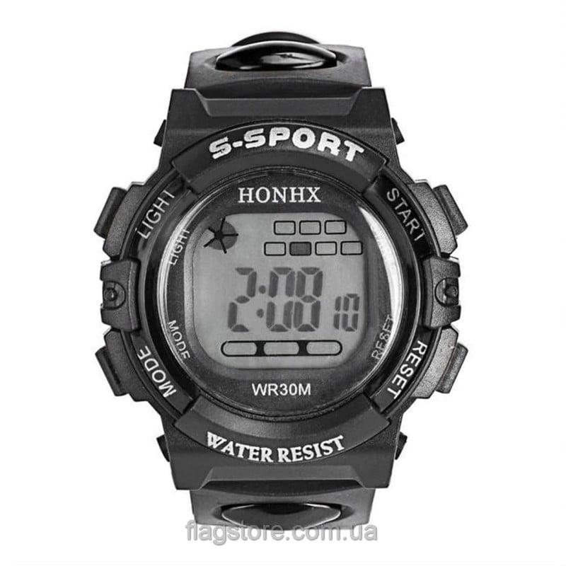 Cпортивные водонепроницаемые часы S-Sport с подсветкой (W157) 04