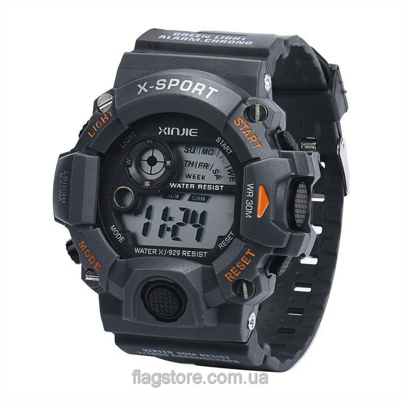 Cпортивные водонепроницаемые часы X-Sport с подсветкой (W160) 02