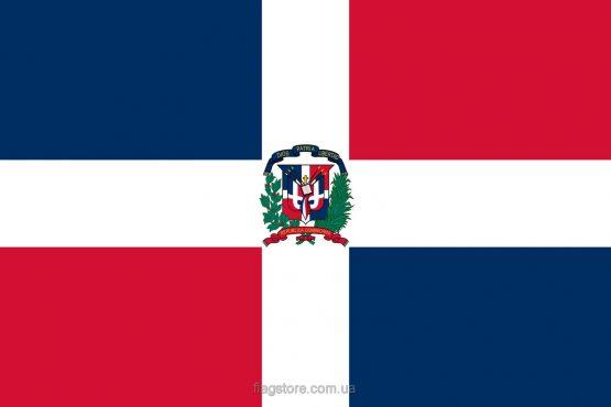Купити прапор Домініканської Республіки (країни Домініканська Республіка)