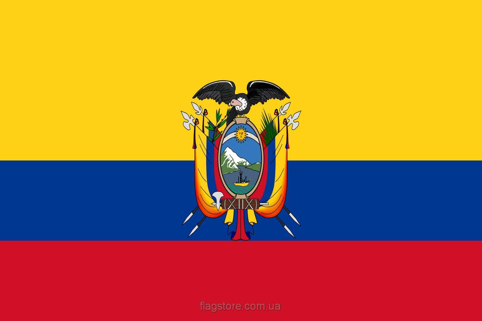 Купить флаг Эквадора (страны Эквадор)