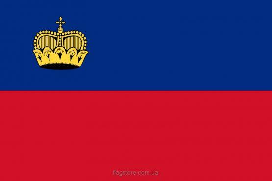 Купити прапор Ліхтенштейну (країни Князівство Ліхтенштейн)