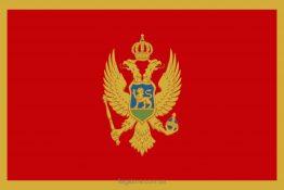 Купити прапор Чорногорії (країни Чорногорія)
