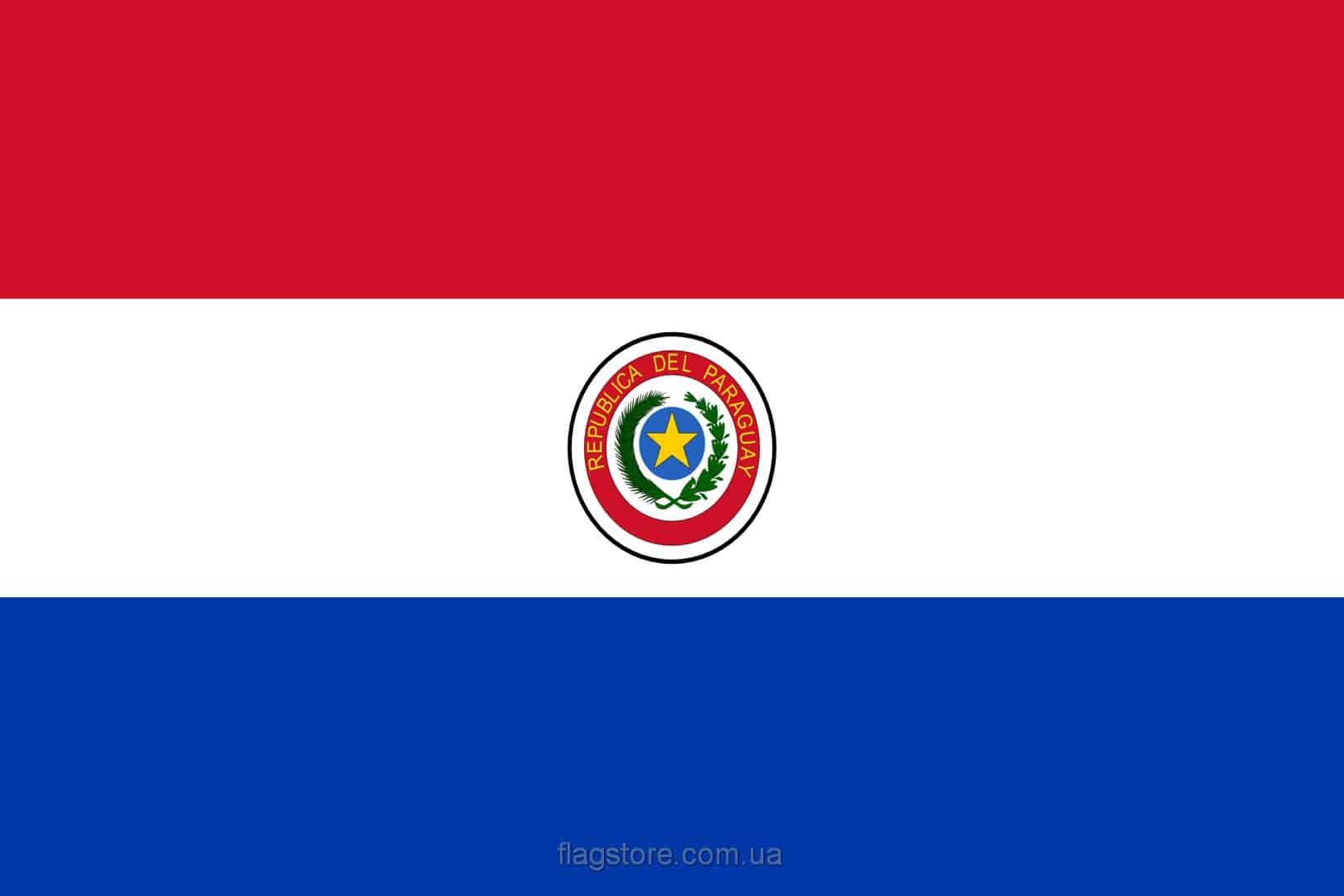 Купить флаг Парагвая (страны Парагвай)
