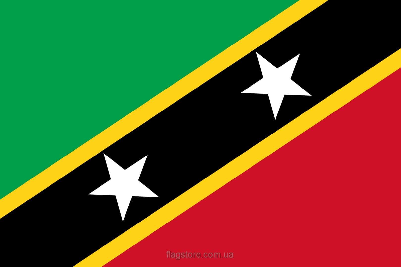 Купить флаг Сент-Китса и Невиса (страны Сент-Китс и Невис)